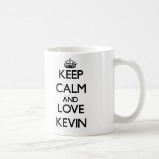 Keep Calm and Love Kevin Mug
