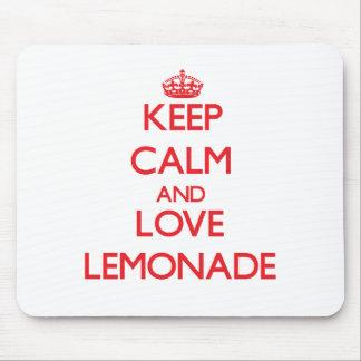 Keep calm and love Lemonade Mouse Pads