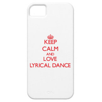 Keep calm and love Lyrical Dance Cover For iPhone 5/5S