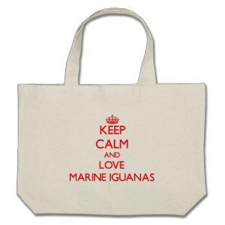 Keep calm and love Marine Iguanas Bag