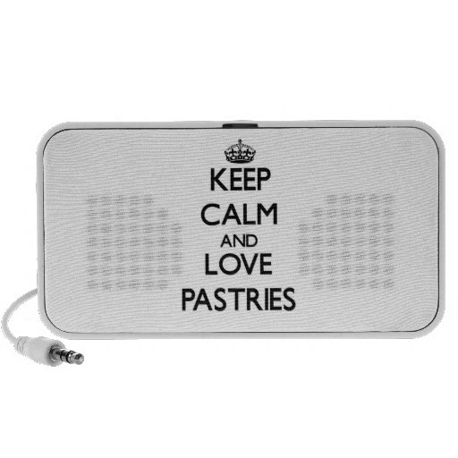 Keep calm and love Pastries Speaker