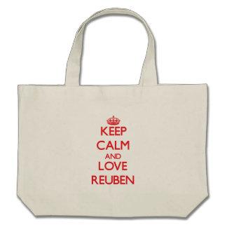 Keep Calm and Love Reuben Tote Bag