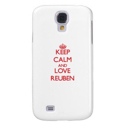 Keep Calm and Love Reuben HTC Vivid Cover