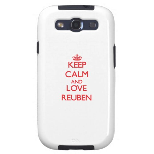 Keep Calm and Love Reuben Galaxy SIII Case
