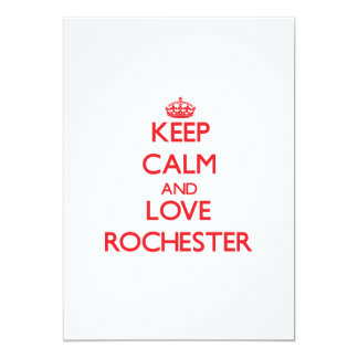 Keep Calm and Love Rochester Announcements