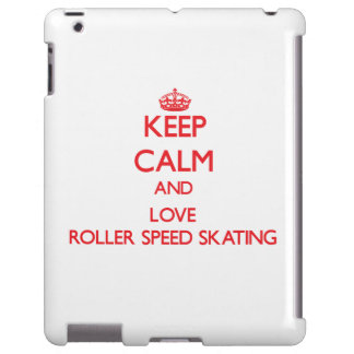 Keep calm and love Roller Speed Skating