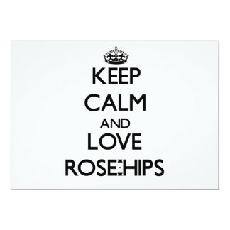 Keep calm and love Rose-Hips Announcements