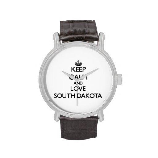 Keep Calm and Love South Dakota Watch