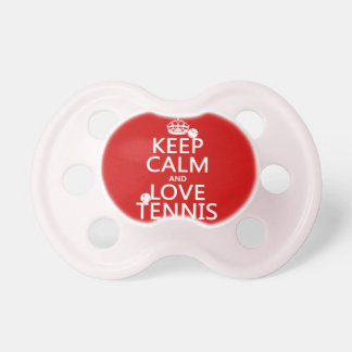 Keep Calm and Love Tennis Dummy