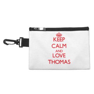 Keep calm and love Thomas Accessory Bags