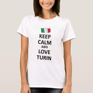 Keep calm and love Turin T-Shirt