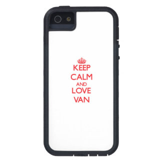 Keep Calm and Love Van iPhone 5 Covers