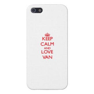 Keep Calm and Love Van iPhone 5 Covers