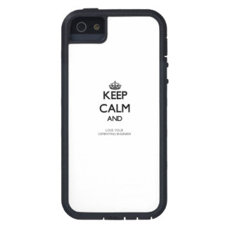 Keep Calm and Love your Cementing Engineer iPhone 5 Covers