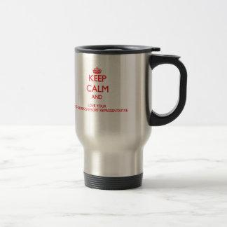Keep Calm and Love your Children's Resort Represen Mug