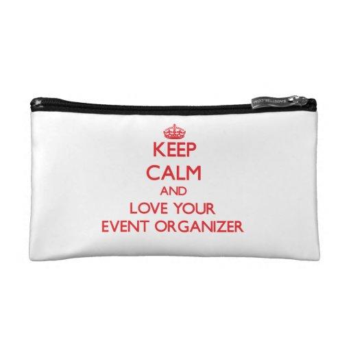 Keep Calm and Love your Event Organizer Makeup Bag