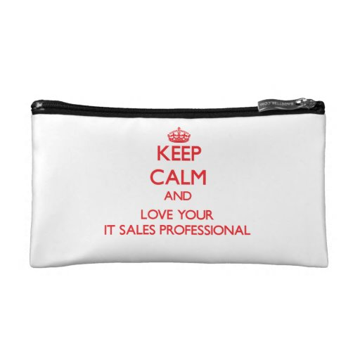 Keep Calm and Love your It Sales Professional Makeup Bags