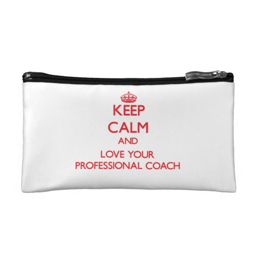 Keep Calm and Love your Professional Coach Makeup Bag
