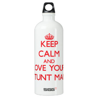 Keep Calm and Love your Stunt Man SIGG Traveller 1.0L Water Bottle