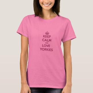 Keep Calm and Love Your Yorkie Long-Sleeve T-Shirt