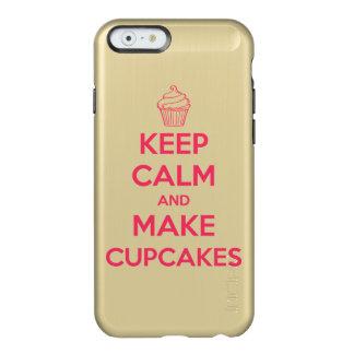 Keep calm and make cupcakes incipio feather® shine iPhone 6 case