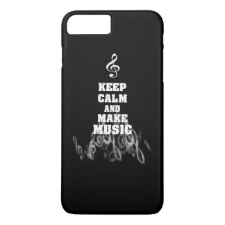 Keep Calm and Make Music iPhone 7 Plus Case