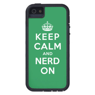 Keep Calm and Nerd On iPhone 5 Covers