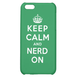 Keep Calm and Nerd On iPhone 5C Cover