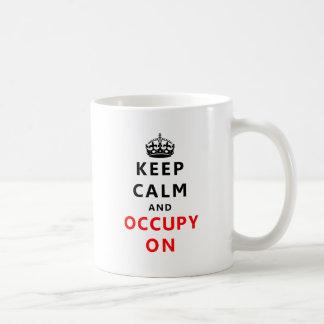 Keep Calm And Occupy On Coffee Mugs