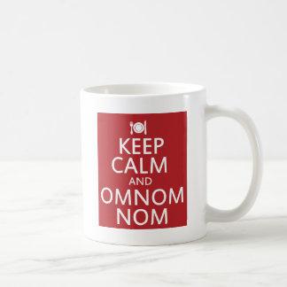 Keep Calm and Omnom Nom Mugs