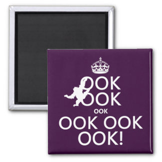 Keep Calm and Ook On Magnet