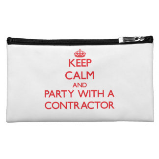 Keep Calm and Party With a Contractor Makeup Bags