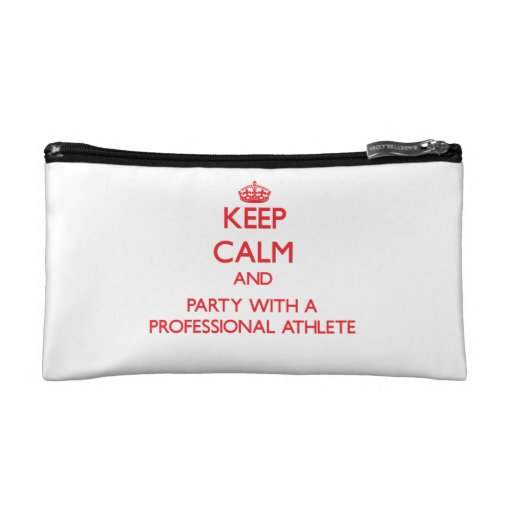 Keep Calm and Party With a Professional Athlete Makeup Bag