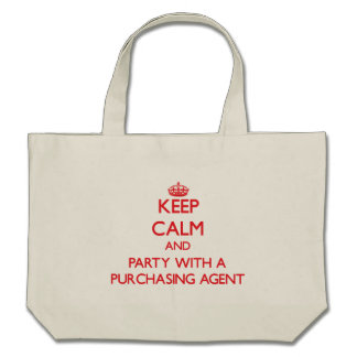 Keep Calm and Party With a Purchasing Agent Bags