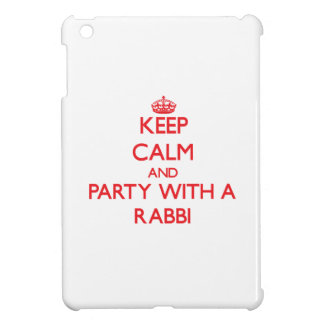 Keep Calm and Party With a Rabbi iPad Mini Cover