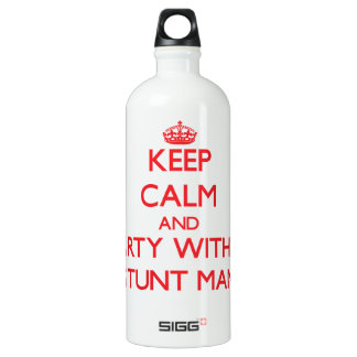 Keep Calm and Party With a Stunt Man SIGG Traveller 1.0L Water Bottle