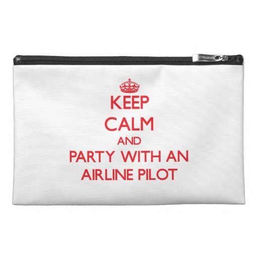 Keep Calm and Party With an Airline Travel Accessories Bags