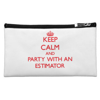 Keep Calm and Party With an Estimator Makeup Bag