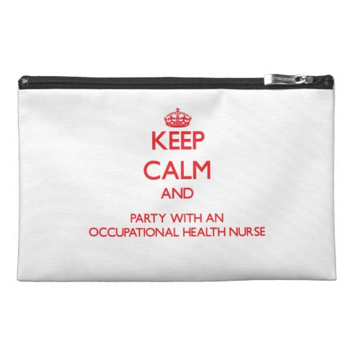 Keep Calm and Party With an Occupational Health Nu Travel Accessory Bag