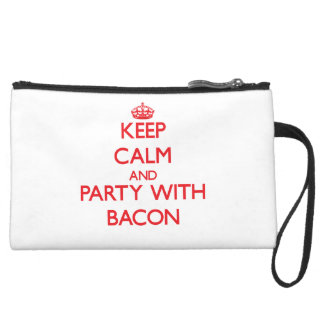 Keep calm and Party with Bacon Wristlets