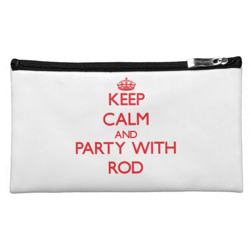 Keep calm and Party with Rod Cosmetics Bags