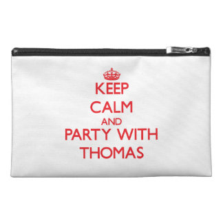 Keep calm and Party with Thomas Travel Accessory Bag