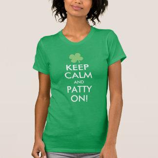 Keep Calm and Patty On, Cute St. Patricks Day Tshirt