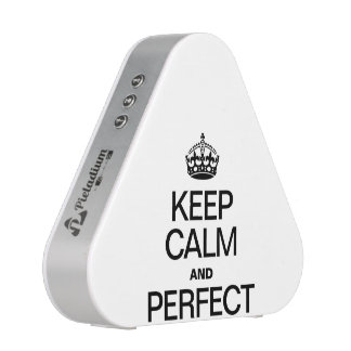 KEEP CALM AND PERFECT SPEAKER