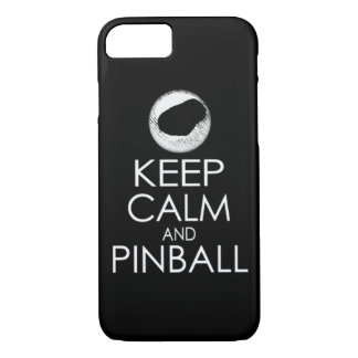 Keep Calm and Pinball iPhone 7 Case