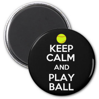 Keep Calm and Play Ball! Magnet
