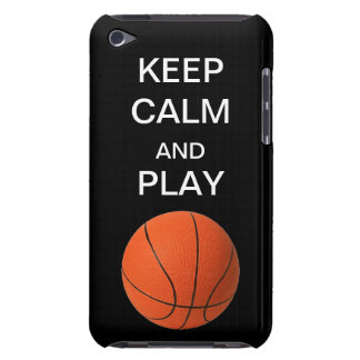 Keep Calm and Play Basketbal Form Factor iPod Case