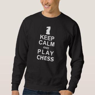 Keep Calm and Play Chess Sweatshirt