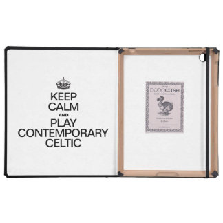 KEEP CALM AND PLAY CONTEMPORARY CELTIC COVER FOR iPad