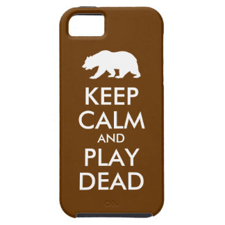 Keep Calm and Play Dead Case For The iPhone 5